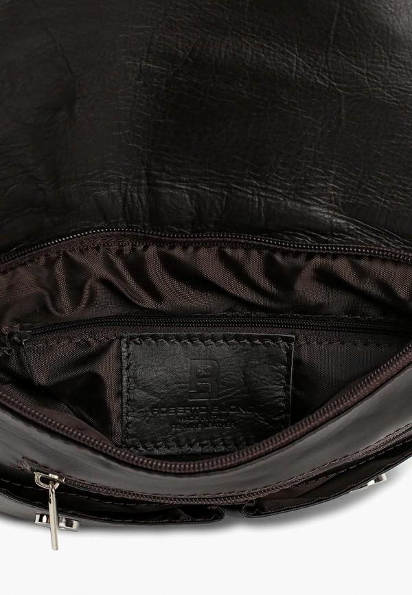 Фото 3 - Женскую сумку Roberto Buono коричневого цвета