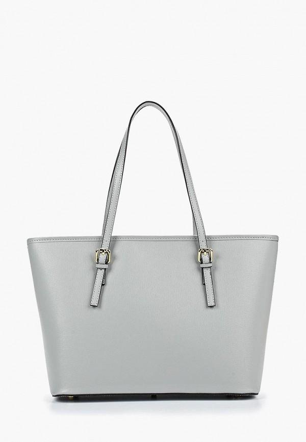 женская сумка-шоперы roberto buono, голубая