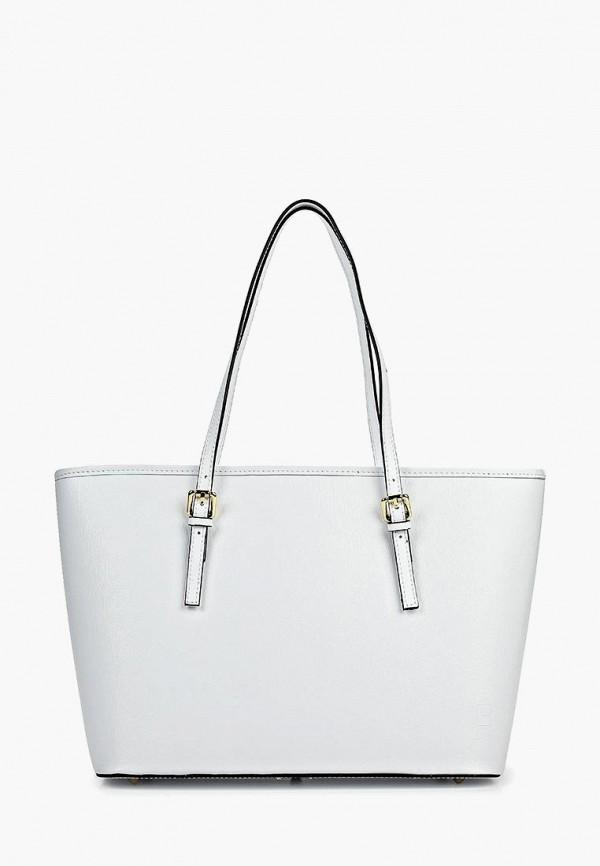 женская сумка с ручками roberto buono, белая