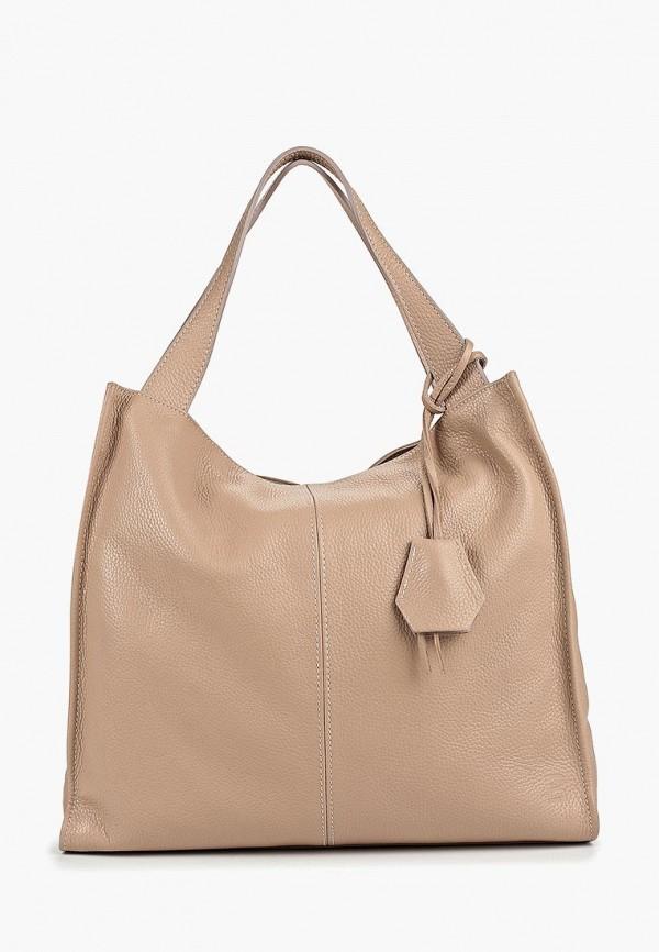 женская сумка roberto buono, розовая