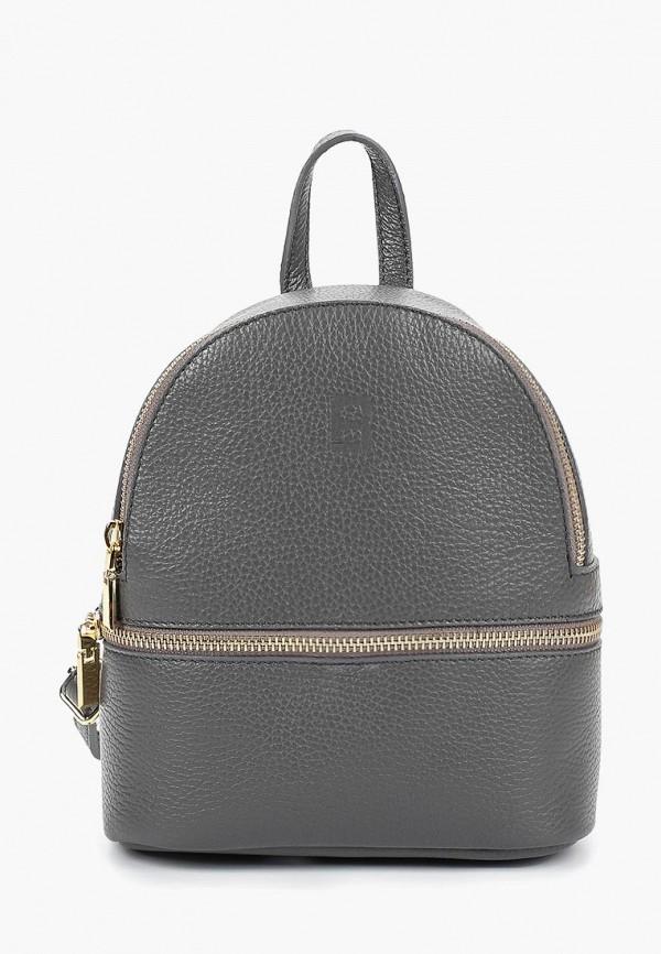 женский рюкзак roberto buono, серый