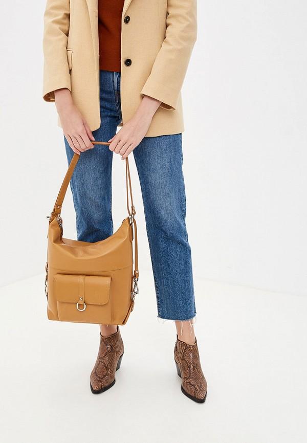 Фото 4 - Женские сумки и аксессуары Roberto Buono коричневого цвета