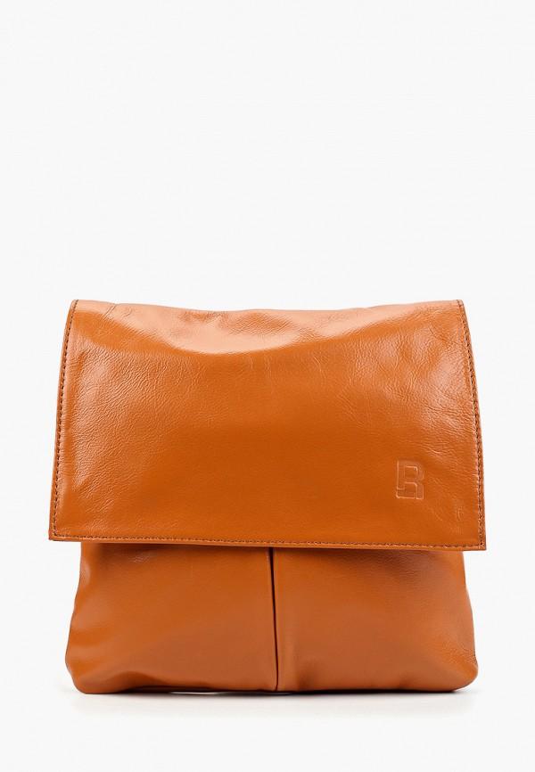 Фото - Женскую сумку Roberto Buono коричневого цвета