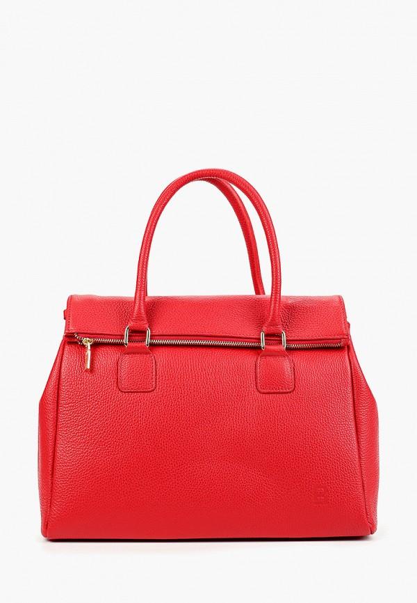 женская сумка roberto buono, красная
