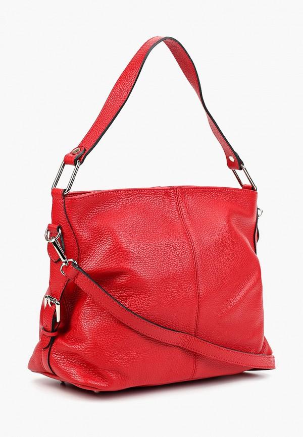 Фото 2 - Женские сумки и аксессуары Roberto Buono красного цвета