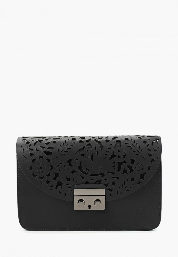 женская сумка roberto buono, черная