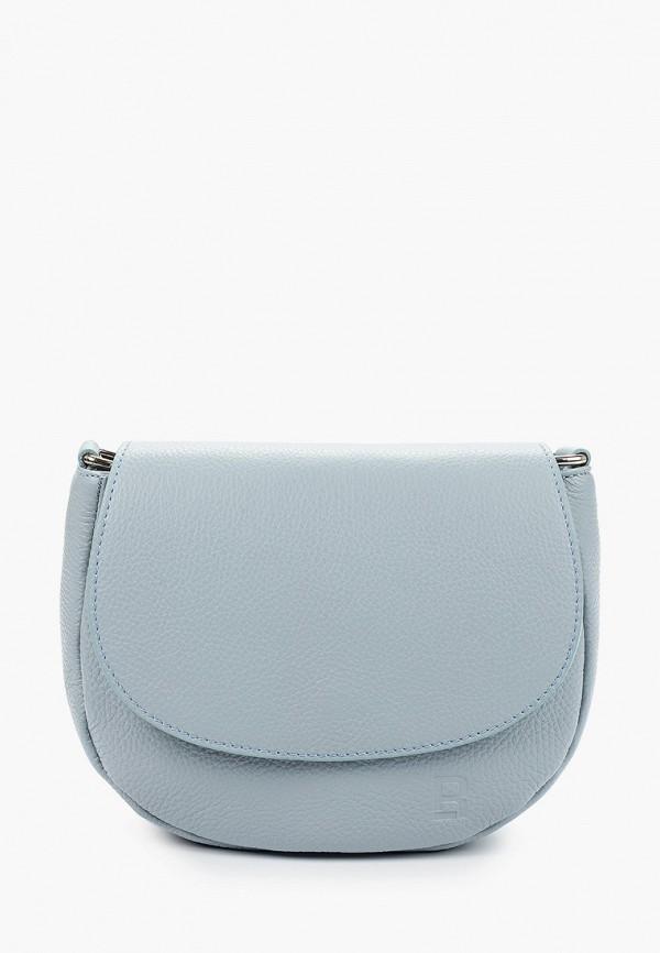 женская сумка roberto buono, голубая