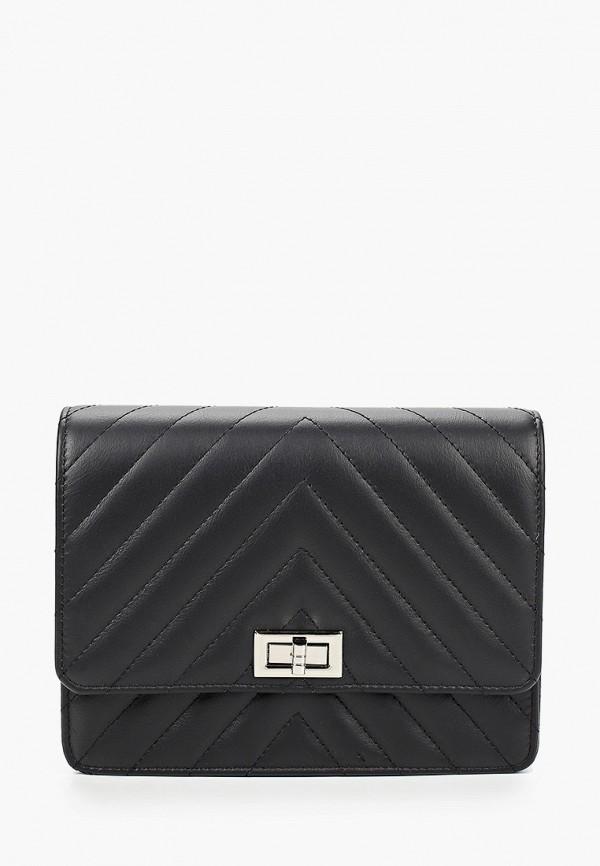 женская поясные сумка roberto buono, черная