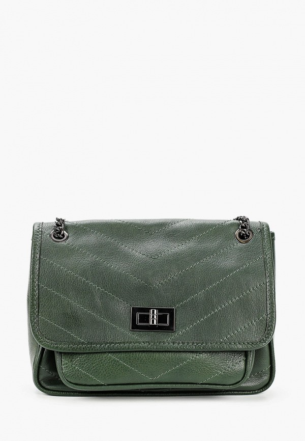 женская сумка roberto buono, зеленая