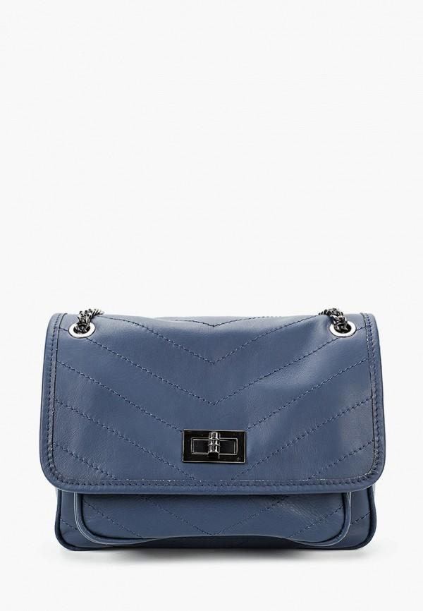 женская сумка roberto buono, синяя