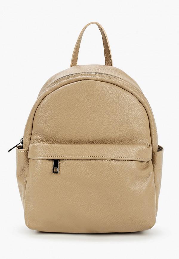 женский рюкзак roberto buono, бежевый