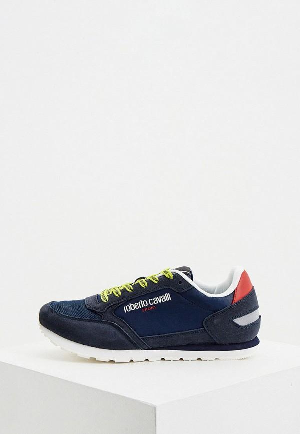 мужские кроссовки roberto cavalli sport, синие