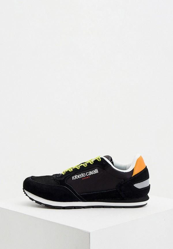 мужские кроссовки roberto cavalli sport, черные