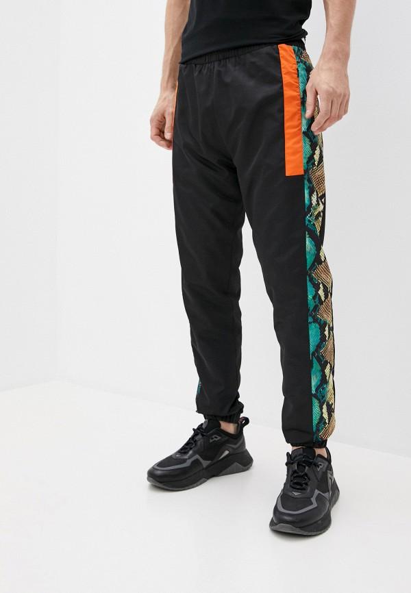 мужские спортивные брюки roberto cavalli sport, черные