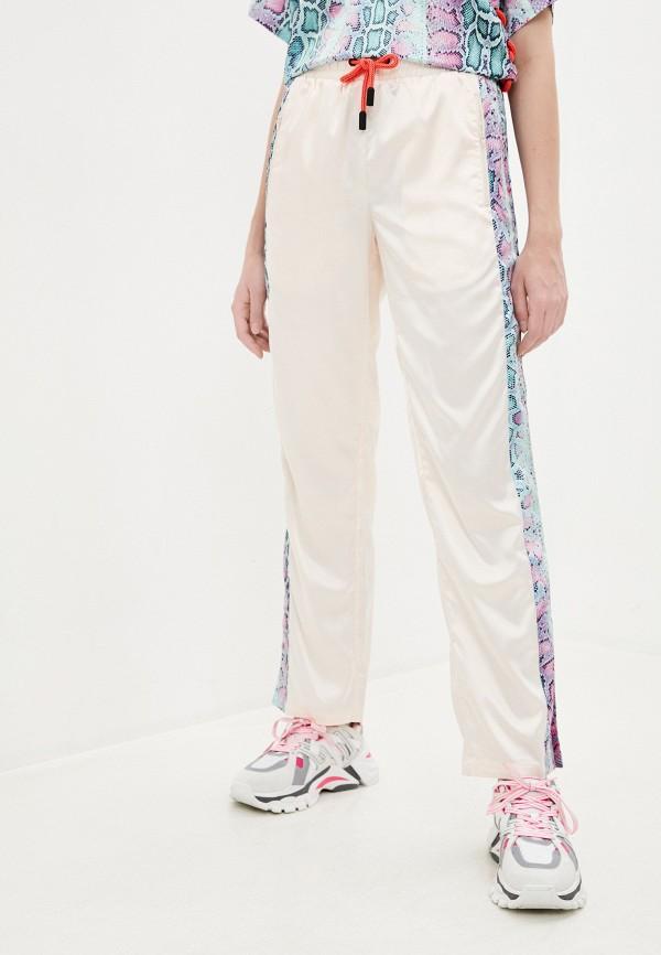 женские брюки roberto cavalli sport, бежевые