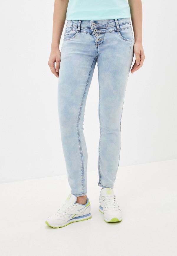 женские джинсы rock angel, голубые