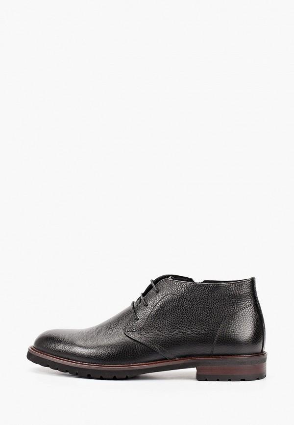 мужские ботинки roscote, черные