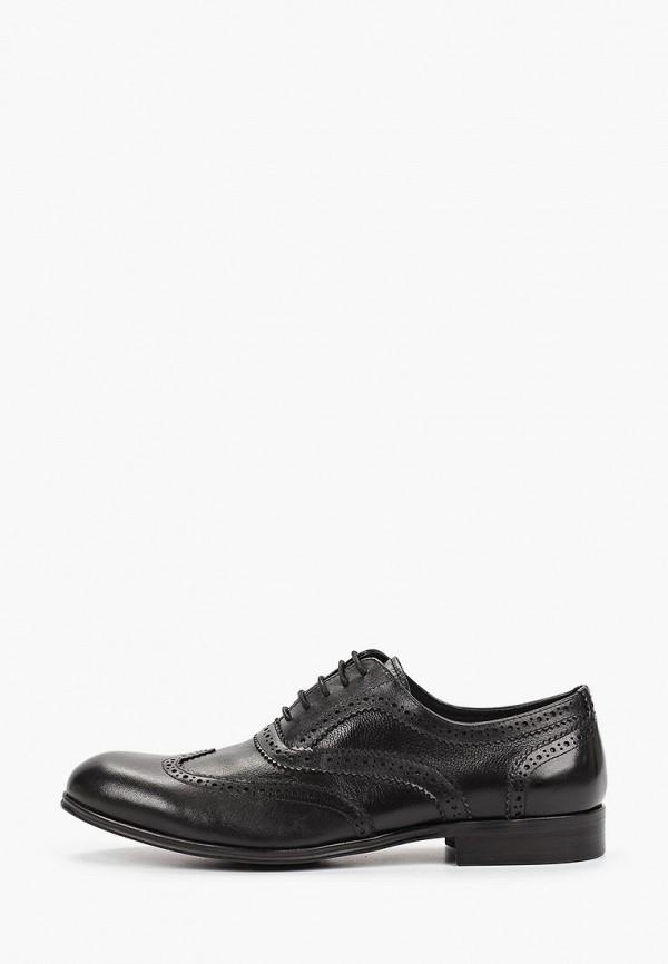 мужские туфли roscote, черные
