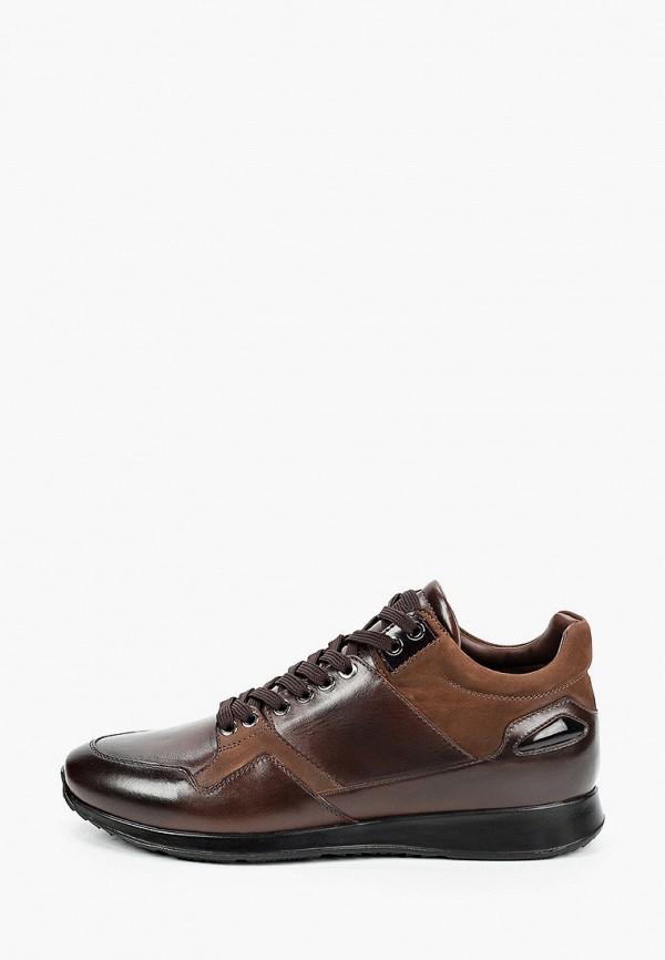 мужские кроссовки roberto piraloff, коричневые