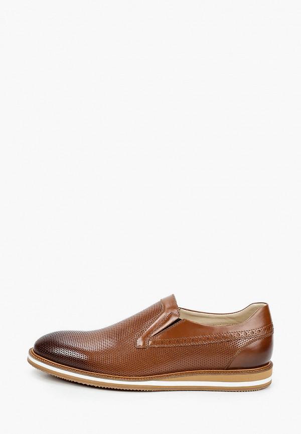 мужские лоферы roberto piraloff, коричневые