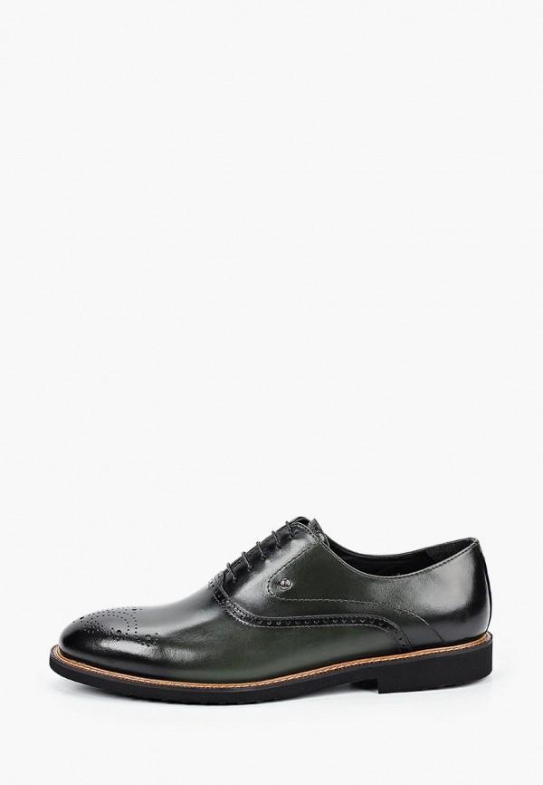 мужские туфли roberto piraloff, зеленые