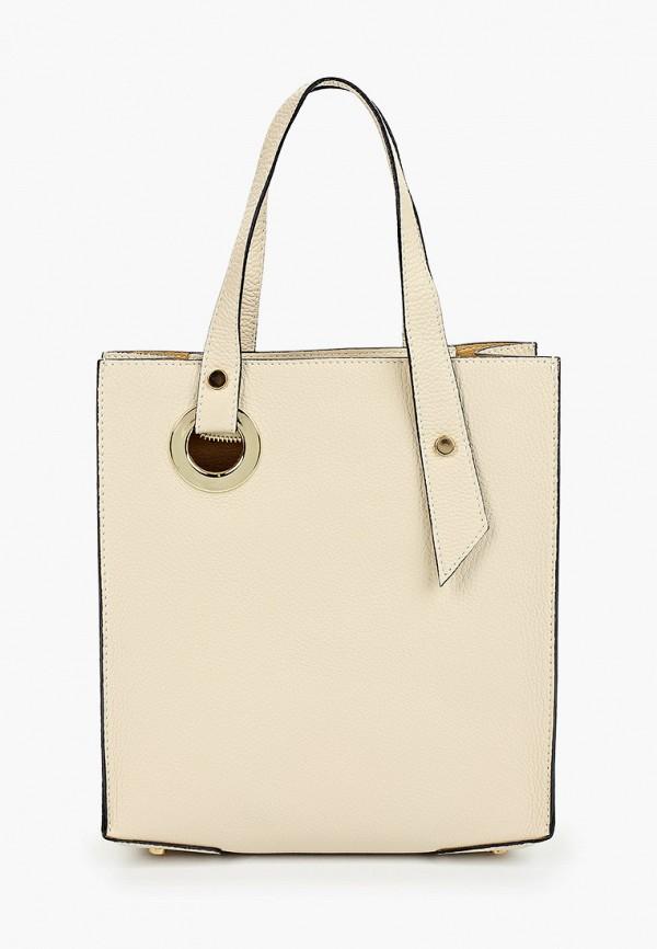 женская сумка roberta m, бежевая