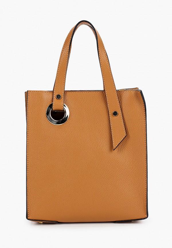 женская сумка roberta m, коричневая