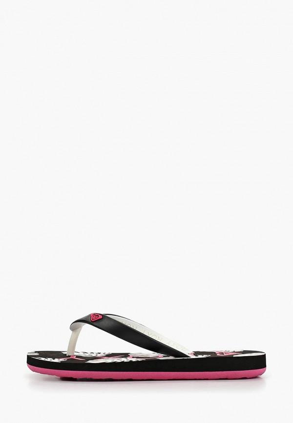 Сланцы Roxy Roxy RO165AGEDMG1 mewant black leather beige leathe car steering wheel cover for hyundai ix35 2011 2015 tucson 2 2010 2011 2012 2013 2014 2015