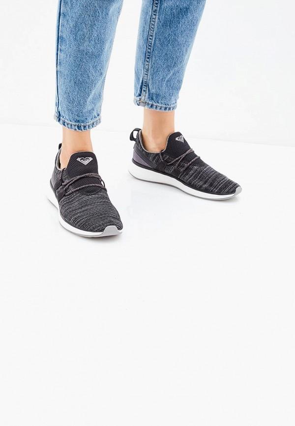 Фото 5 - Женские кроссовки Roxy черного цвета