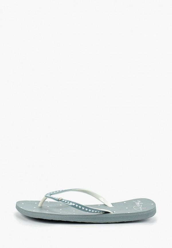Сланцы Roxy Roxy RO165AWEXLL0 брюки женские roxy цвет серый erjfb03177 sgrh размер s 42 34