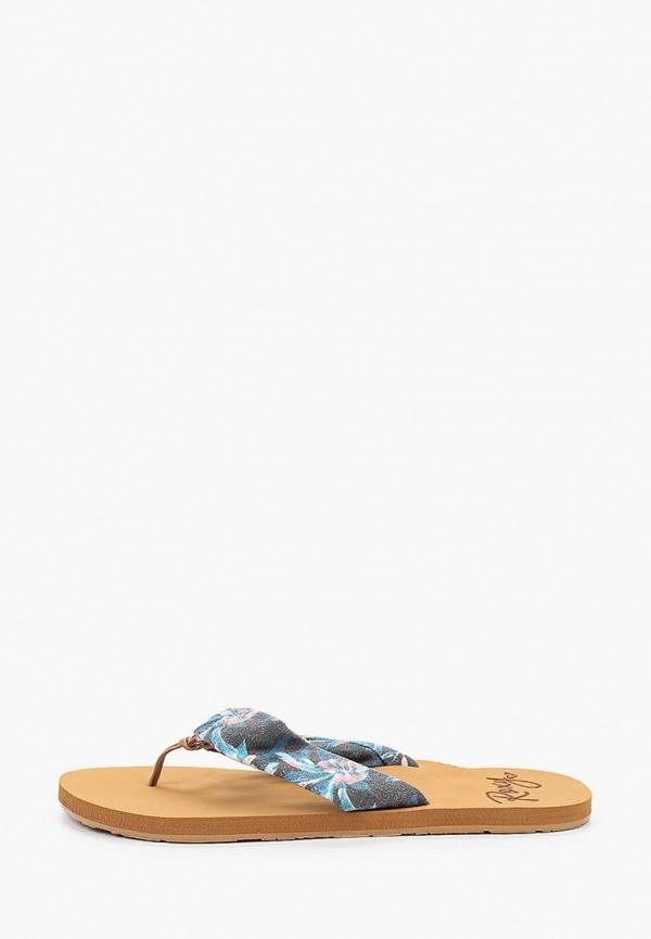 женские сланцы roxy, разноцветные
