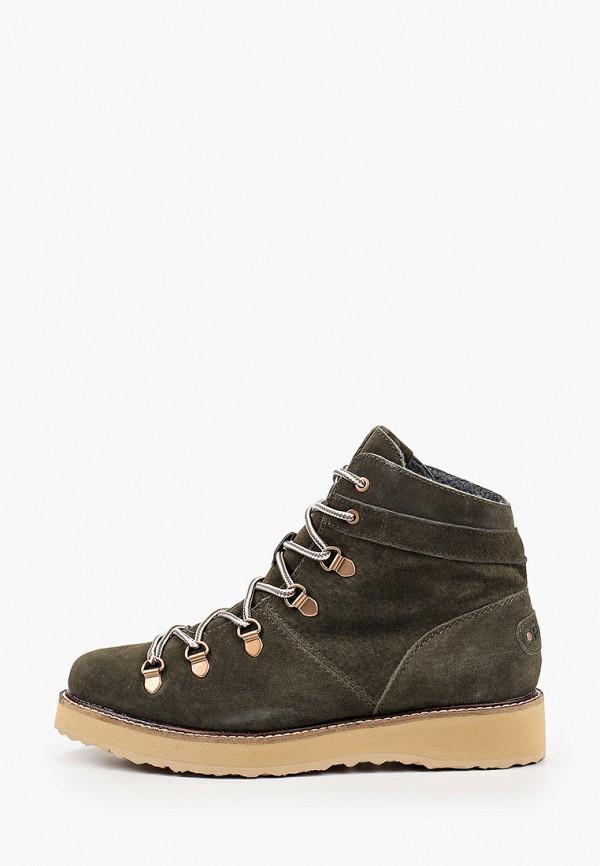 женские ботинки roxy, хаки