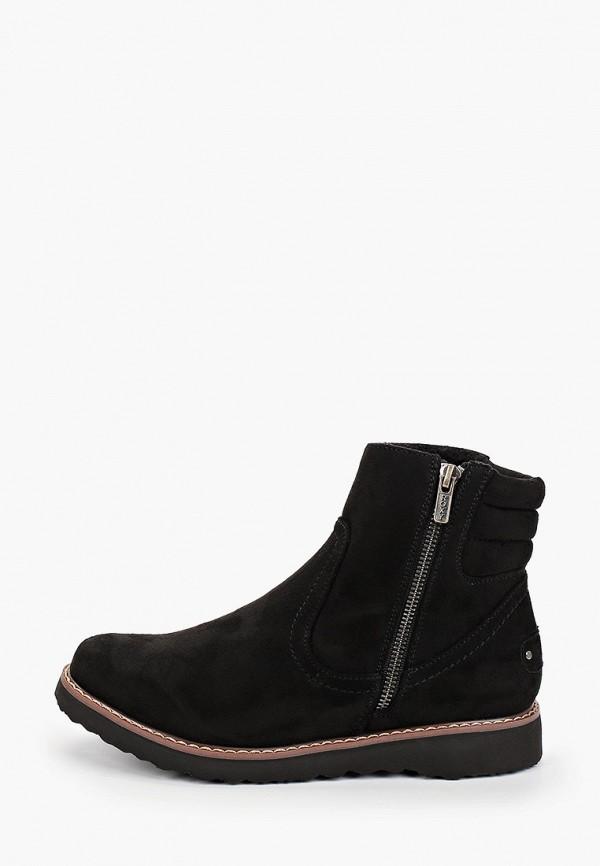 женские ботинки roxy, черные