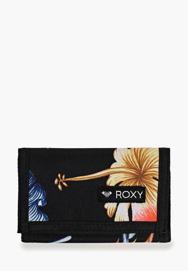 женский кошелёк roxy, черный