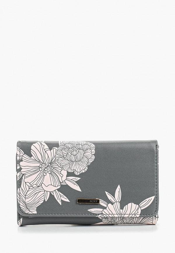 женский кошелёк roxy, серый