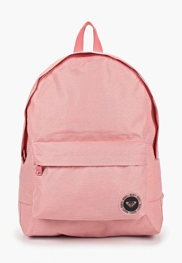 женский рюкзак roxy, розовый