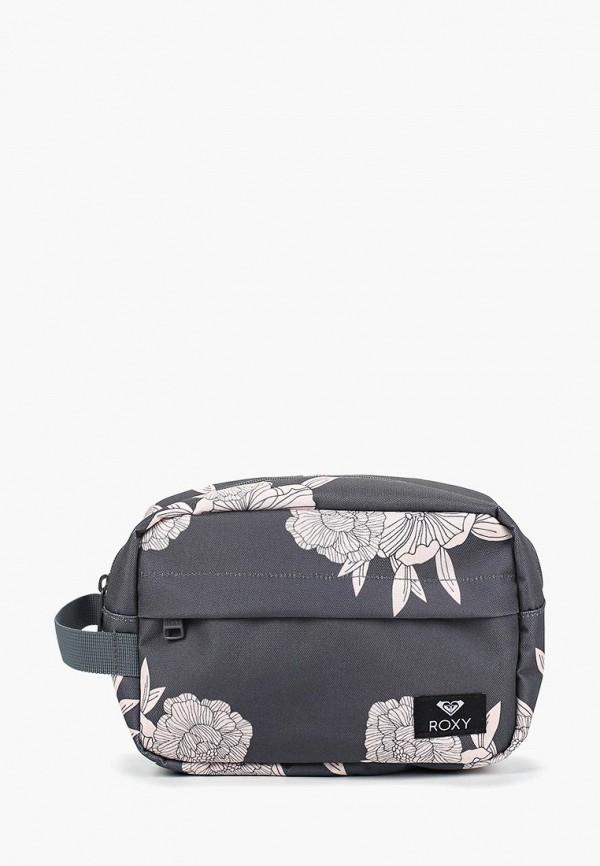 Купить Косметичка Roxy, ro165bweguh1, серый, Весна-лето 2019