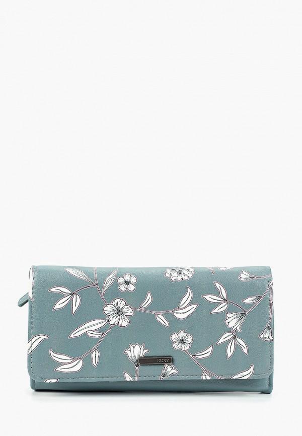 женский кошелёк roxy, голубой