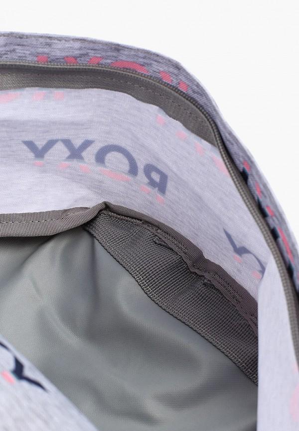 Фото 3 - женский рюкзак Roxy серого цвета