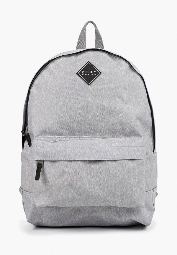 Фото - женский рюкзак Roxy серого цвета