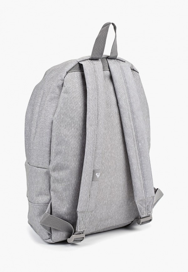 Фото 2 - женский рюкзак Roxy серого цвета