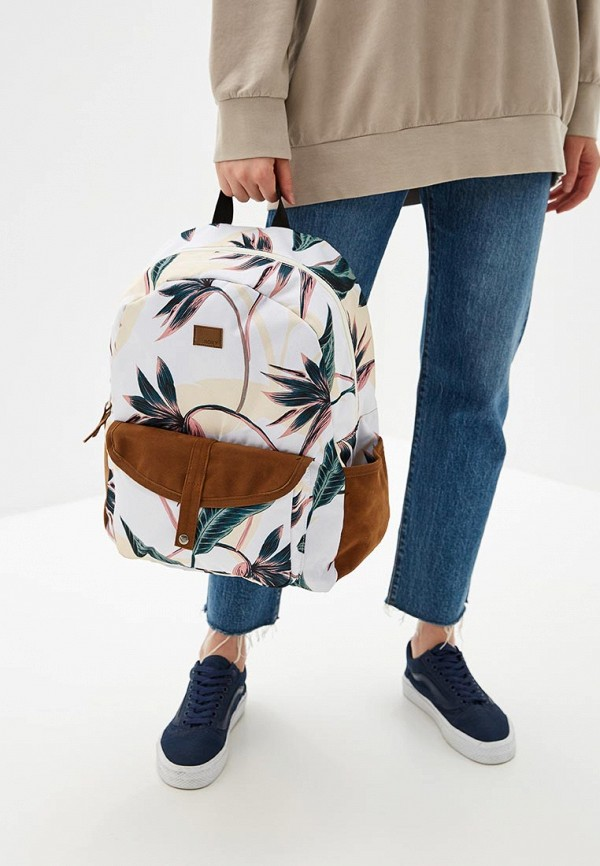 Фото 4 - женский рюкзак Roxy разноцветного цвета