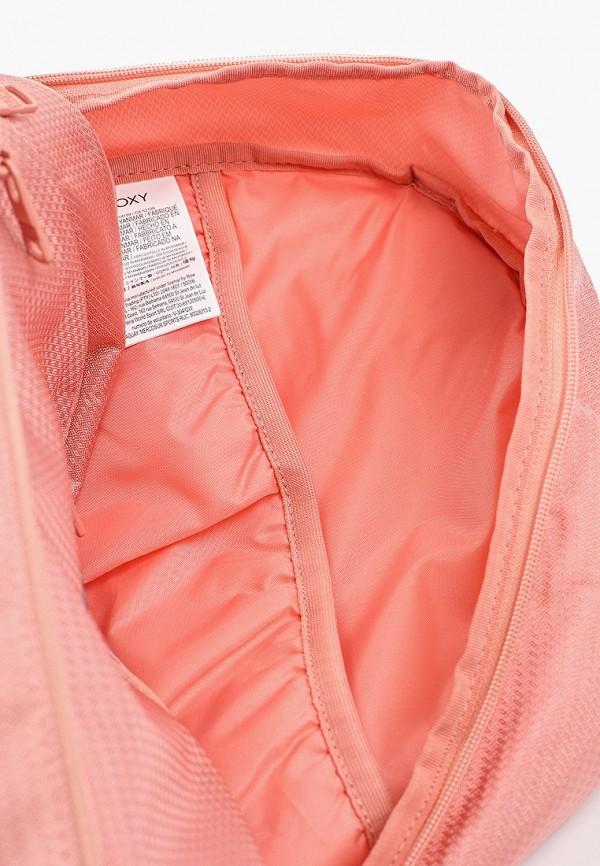 Фото 3 - женский рюкзак Roxy розового цвета
