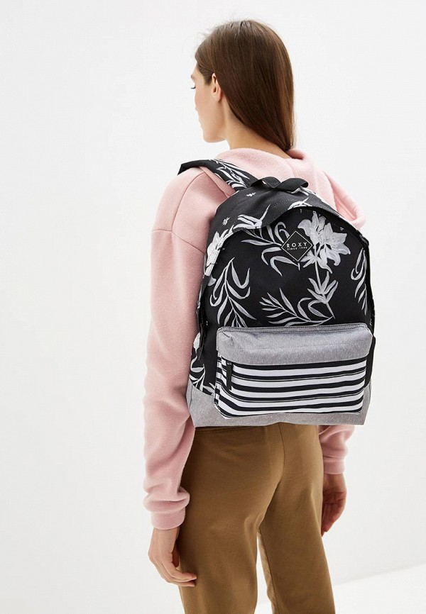 Фото 4 - женский рюкзак Roxy черного цвета