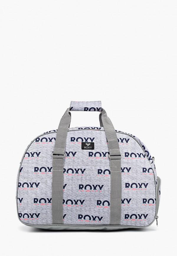 женская дорожные сумка roxy, серая