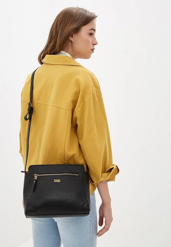 Фото 4 - женскую спортивную сумку Roxy черного цвета