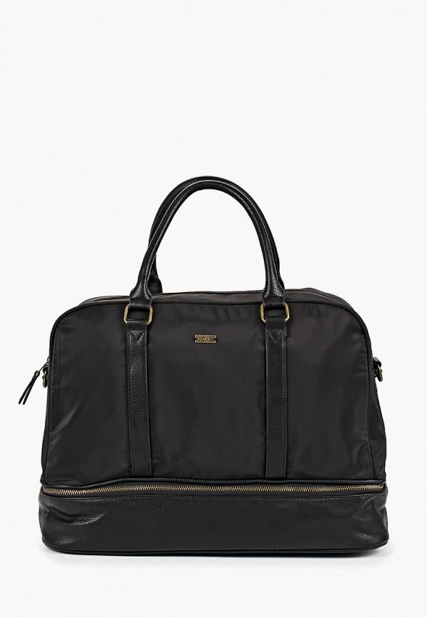 женская дорожные сумка roxy, черная
