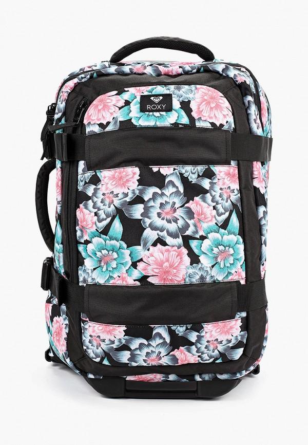 женский чемодан roxy, разноцветный