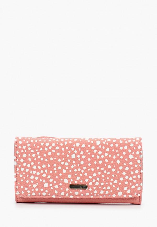 женский кошелёк roxy, розовый
