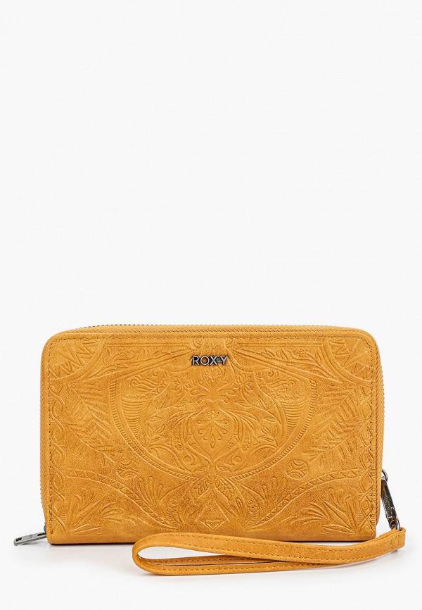 женский кошелёк roxy, коричневый